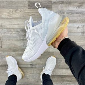 🌸 NIKE AIR MAX 270 Sneakers New Shoes White